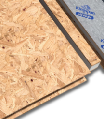 Celsius Solid Roof Render - Kingspan TEK SIP Panels for High Insulation and Structural Performance